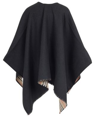 Wool cape BURBERRY