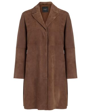 Virtus lightweight suede coat WEEKEND MAXMARA