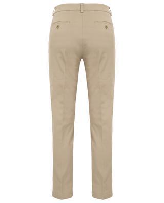 Oglio cotton twill cigarette trousers WEEKEND MAXMARA