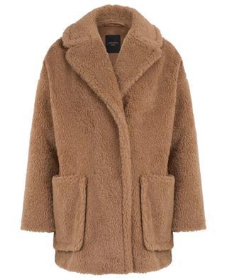 Affine oversized fur effect coat WEEKEND MAXMARA