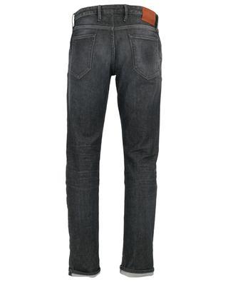 Graue Super-Slim-Fit-Jeans Swing PT05