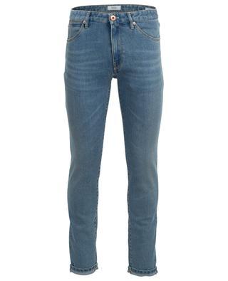 Ausgewaschene Superslim-Jeans aus Baumwollmix Swing PT05