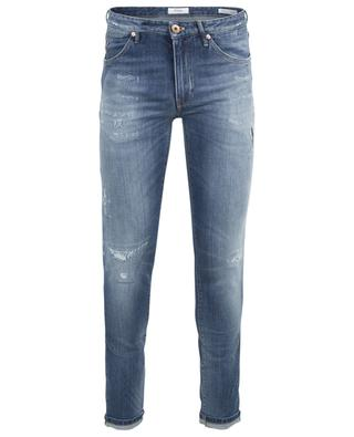 Swing distressed jeans with rips PT05