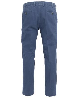 Pantalon chino slim en coton mélangé PT01