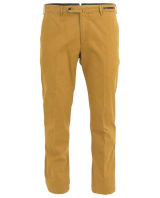 Slim fit cotton blend chino trousers PT01