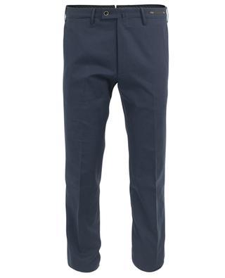 Pantalon chino en laine vierge imprimée PT01