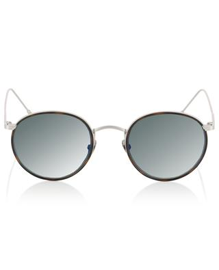 Harvey Sun silver tortoise detail sunglasses EDWARDSON