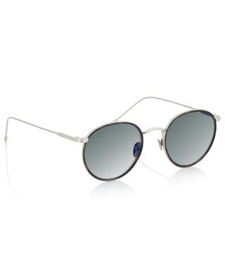 Harvey Sun silver tortoise detail sunglasses EDWARDSON