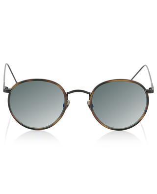Harvey Sun black sunglasses with tortoise detail EDWARDSON