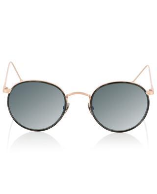Roségoldene Sonnenbrille mit Schildpatt-Detail Harvey Sun EDWARDSON