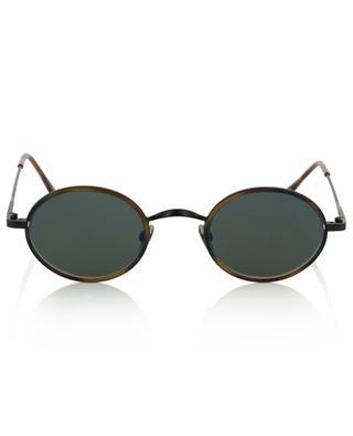 Ovale Sonnenbrille mit Schildpattdetail Willis Sun EDWARDSON