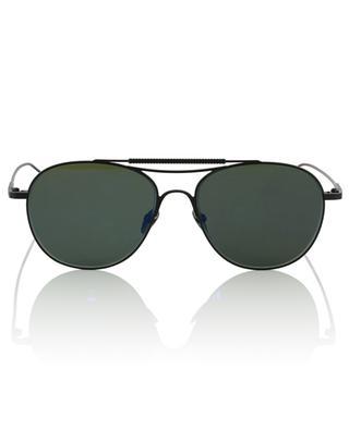 Monza Sun black metal aviator sun glasses EDWARDSON
