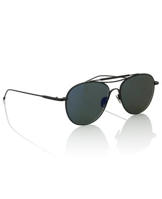 Schwarze Metall-Flieger-Sonnenbrille Monza Sun EDWARDSON