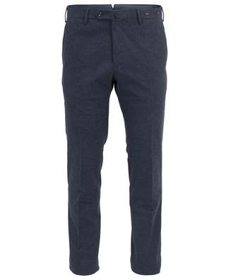 Karierte Slim-Hose aus Baumwolle PT01