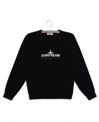 Stone Island logo sweatshirt STONE ISLAND