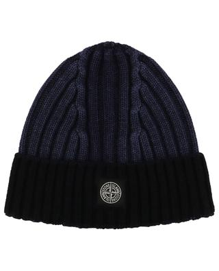 Bicolour wool hat STONE ISLAND