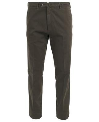 Graven Fit cotton and cashmere chino trousers PT01