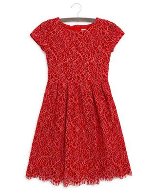 Elisa flower embroidered lace dress CHARABIA