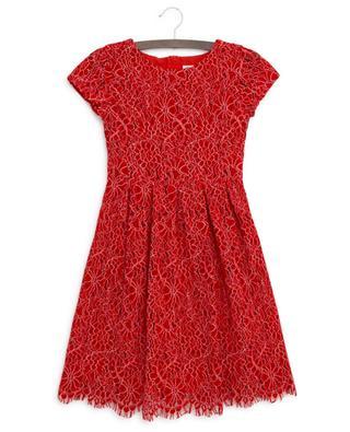 Kleid aus bestickter Blümchenspitze Elisa CHARABIA