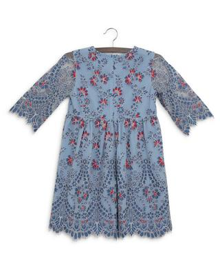 Kleid aus geblümter Spitze Elisa CHARABIA