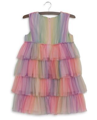 Ärmelloses Kleid aus Regenbogen-Tüll Fanny CHARABIA