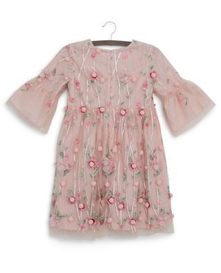 Fanny flower embroidered tulle dress CHARABIA