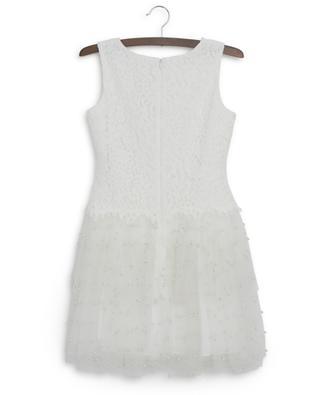 Kleid aus Spitze und perlenbesticktem Tüll Special Occasion CHARABIA