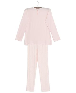 Modal blend lace adorned pyjamas STORY LORIS