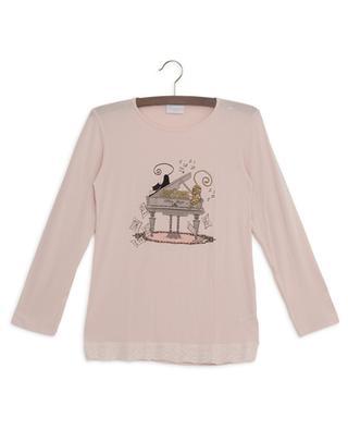 Pyjama aus Modal mit Katzenprint Jazz STORY LORIS