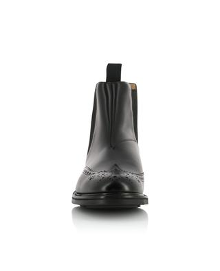 Coldbury perforated leather Chelsea boots CHURCH