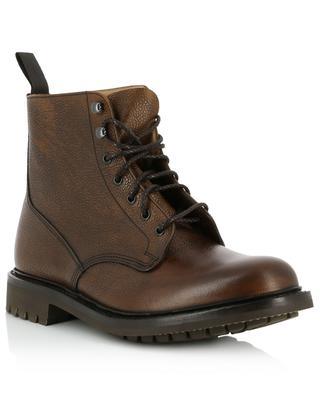 Combat boots en cuir texturé Mc Duff 2 CHURCH