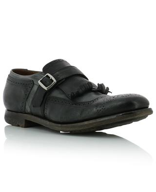 Shanghai nylon and leather loafers with fringe CHURCH