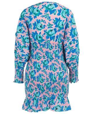 Anya smocked floral mini dress RHODE RESORT
