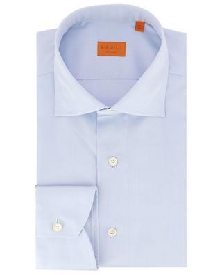 Einfarbiges Hemd aus Baumwolle BRULI