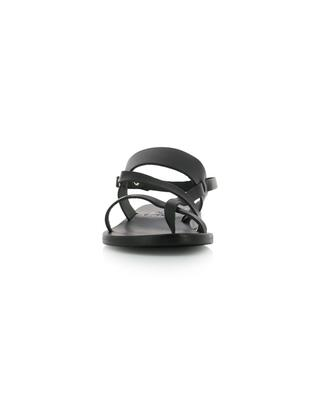 Flache Sandalen aus Leder Alethea ANCIENT GREEK SANDAL