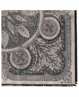 Quadratisches Seidentuch mit Paisley-Print ETRO