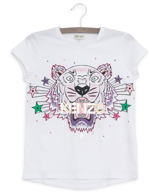Super Tiger print cotton T-shirt KENZO