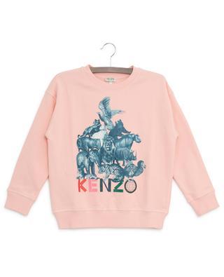 Sweatshirt aus Baumwolle Crazy Jungle KENZO