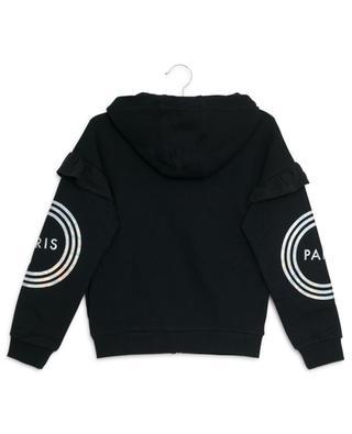 Sweatshirt aus Baumwolle mit Reissverschluss und Kapuze KENZO