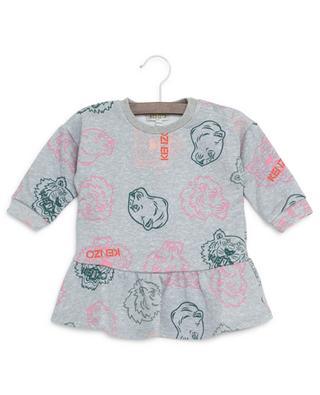 Sweatshirt-Kleid aus Baumwolle Crazy Jungle KENZO