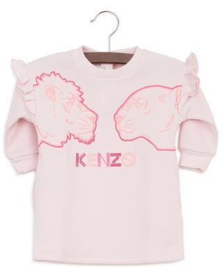 Baby-Sweatkleid mit Stickerei Crazy Jungle KENZO