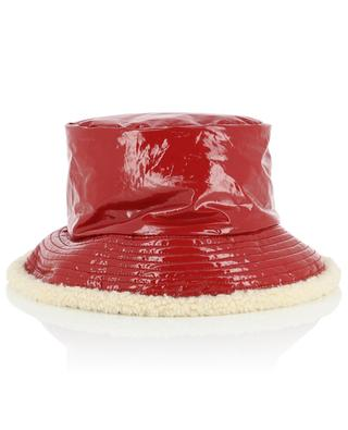 Glossy bucket hat with lining GREVI