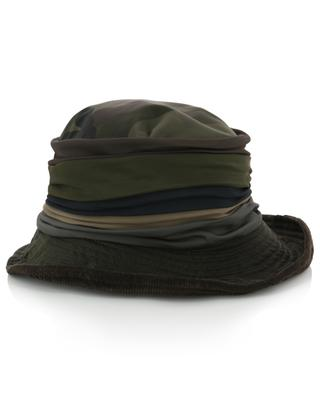 Materialmix-Hut mit Camouflage-Print und Fleece-Futter GREVI