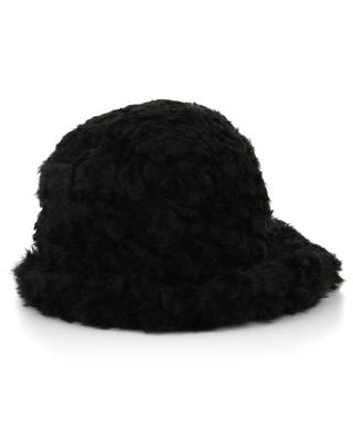 Shearling effect cloche hat GREVI
