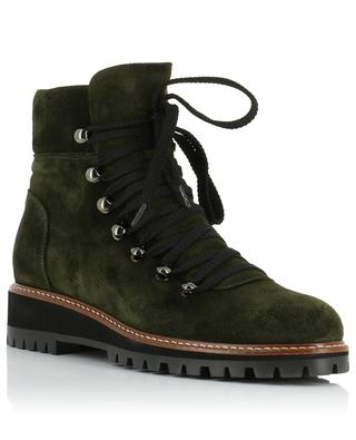 Hiking spirit lace-up suede ankle boots BONGENIE GRIEDER