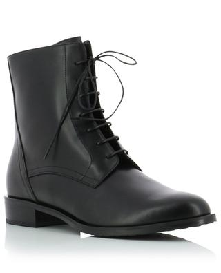 Smooth leather lace-up ankle boots BONGENIE GRIEDER