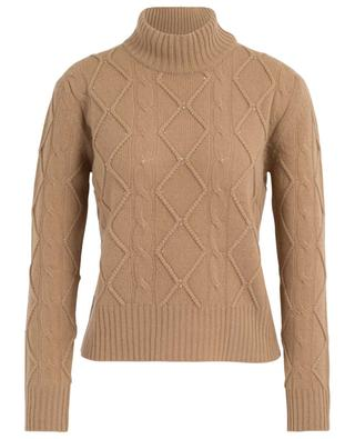 Nelson crystal clad cable knit jumper MAXMARA STUDIO