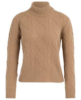Nelson crystal clad cable knit jumper MAXMARA STUDIO