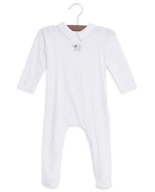 Polka dot print cotton sleepsuit MAGNOLIA BABY