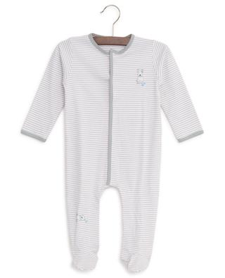 Stripped cotton sleepsuit MAGNOLIA BABY